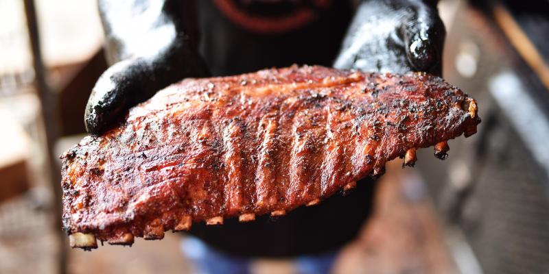 BBQ Ribs vom Traeger Pelletgrill & Pelletsmoker