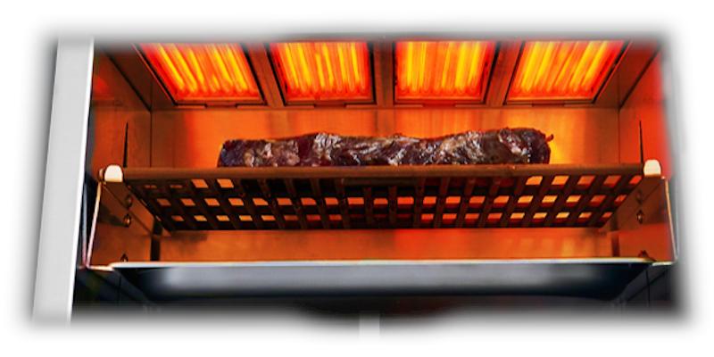 Steak grillen im Otto Wilde Oberhitze Elektrogrill