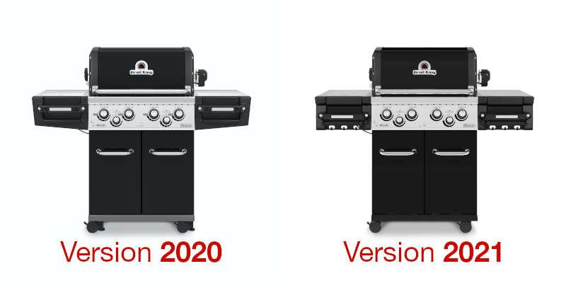 Broil King Regal 2020 vs. 2021 Modelle