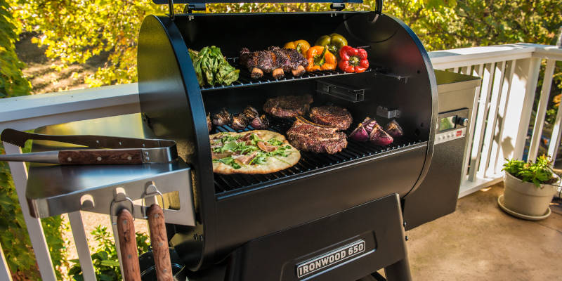Traeger Ironwood Pelletgrill Serie