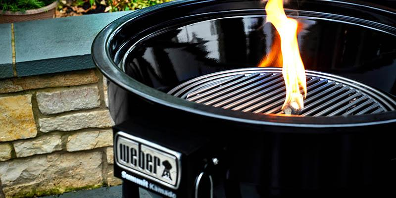 Weber Summit Kamado in Aktion