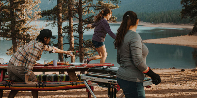 Weber Traveler Campinggrill